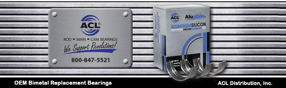 OEM Bimetal Bearings | Aluminum Rod and Main Bearings